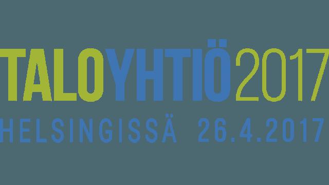 Taloyhtiä-tapahtuman logo. Optima on mukana taloyhtiö 2017-tapahtumassa 26.4.2017