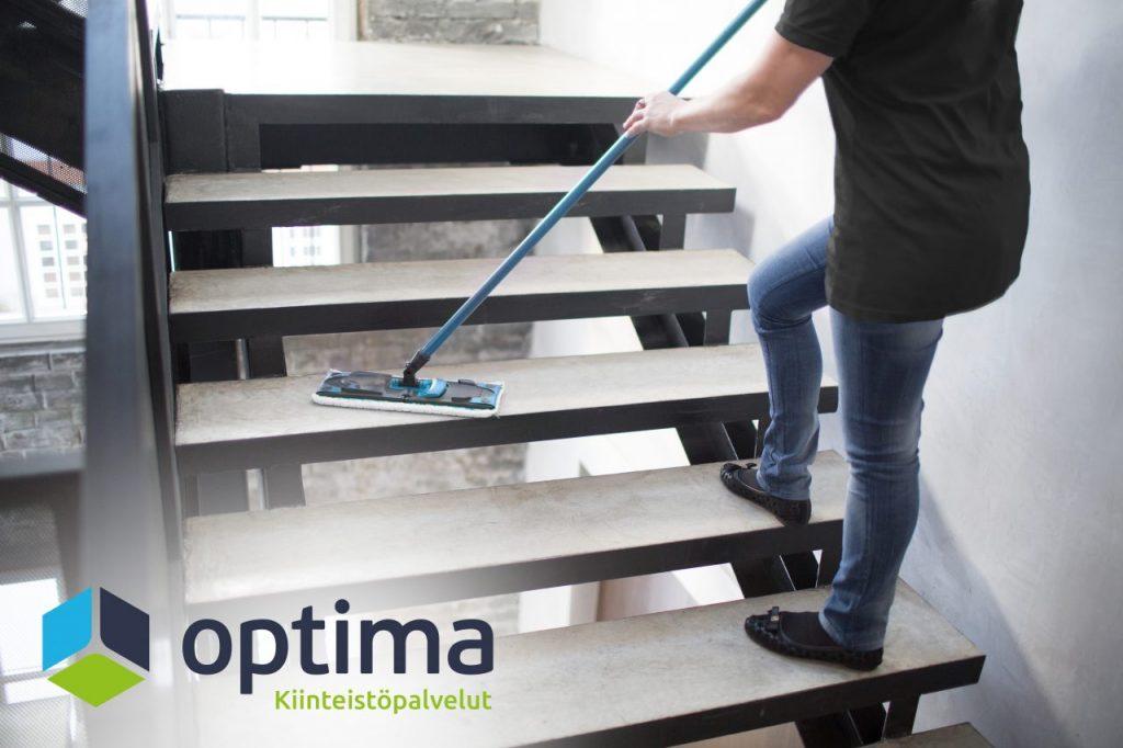 Siivoustyöt ja siivouspalvelut – Kiinteistöhuolto – Optima kiinteistöpalvelu Helsinki Vantaa Espoo Uusimaa